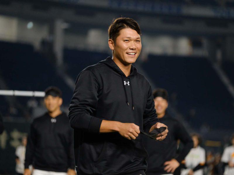 (右)坂本選手は「これ難しいよー!」と一言。