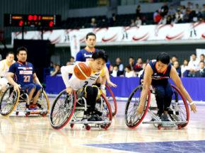 【車いすバスケットボール】天皇杯 第47回日本車いすバスケットボール選手権