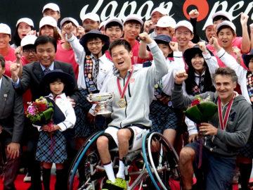 国枝慎吾4年ぶり優勝! 車いすテニス「JAPAN OPEN」男子レポート
