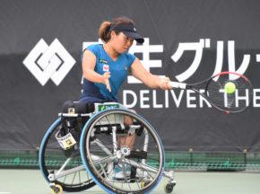 車いすテニス「JAPAN OPEN」女子は上地結衣が準優勝!