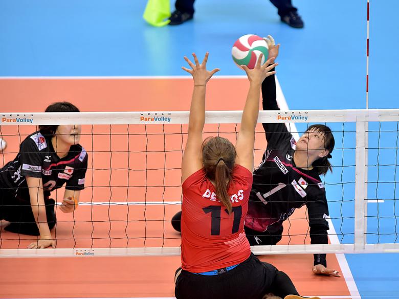シッティングバレーボールチャレンジマッチ2019・女子日本代表が初めて経験したものとは?