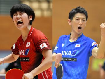 パラ卓球で初のジャパンオープン開催。シングルスで友野&垣田が金メダル獲得