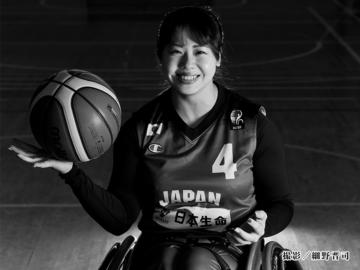柳本あまね(車いすバスケットボール)・女子アスリートPHOTO GALLERY BEST SHOOT