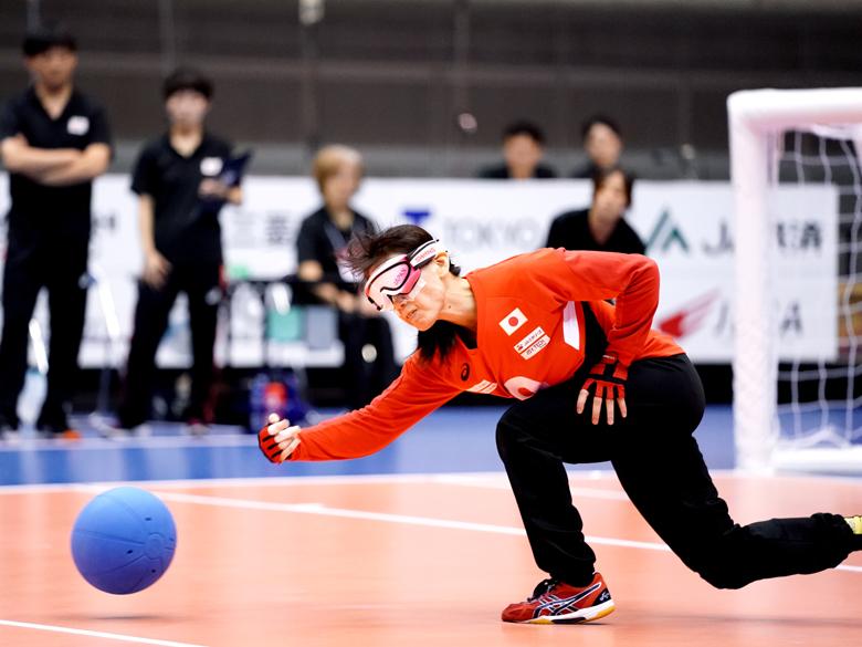 ゴールボール女子日本代表が力試し! 東京2020本番会場で開催されたジャパンパラ