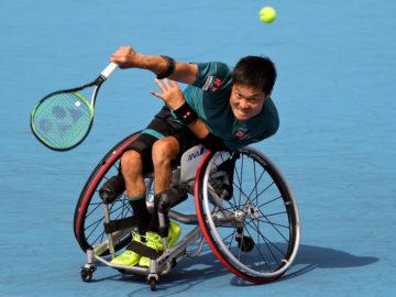 国枝慎吾が初代チャンピオン! テニスファンを魅了した楽天オープン・車いすの部