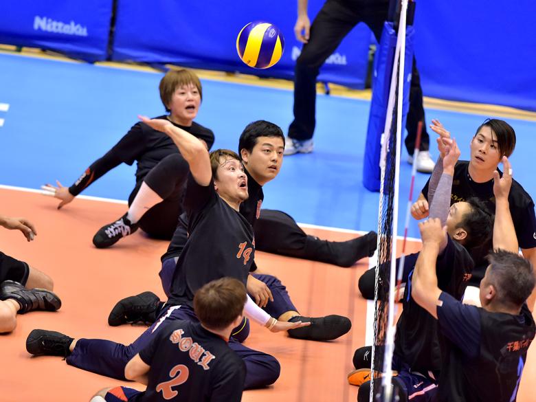 【シッティングバレーボール】第23回日本シッティングバレーボール選手権大会