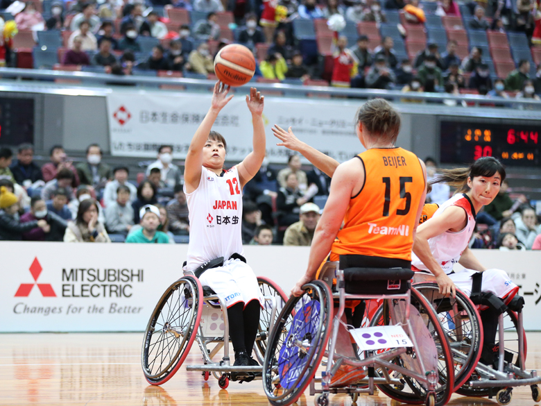 【車いすバスケットボール】2020国際親善女子車いすバスケットボール大阪大会