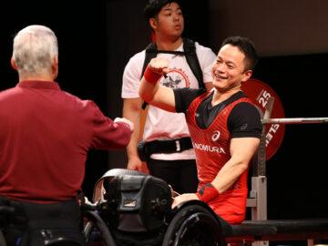 パワーリフティング・東京パラリンピックをかけた勝負は終盤。全日本も熱き戦いに