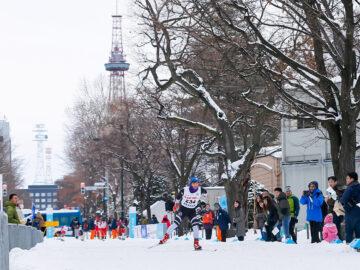 冬の大通公園が競技場に!?「さっぽろスノースポーツフェスタ2020」特別レポート