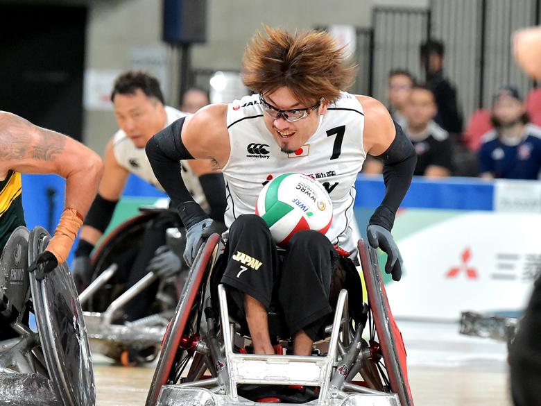 車いすラグビー・池崎大輔は東京パラ延期でも猪突猛進!「目指すのは金メダルだけ」