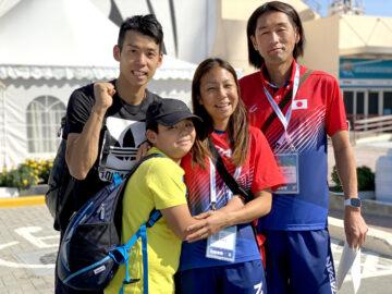 全盲のロングジャンパー高田千明、オリンピアンと家族で目指す頂点