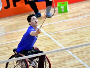 東京2020パラリンピックの有力候補が躍動! 第6回日本障がい者バドミントン選手権