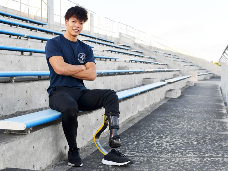 飛躍する陸上競技100mの新星・大島健吾「できないことを、できるようにするのが好き」