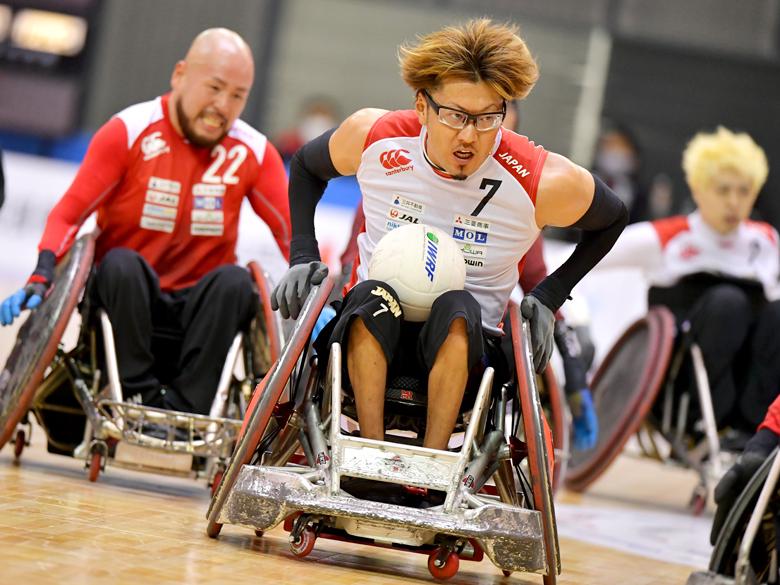 ジャパンパラ・車いすラグビー日本代表、1年半ぶりの試合で金メダルへの準備着々