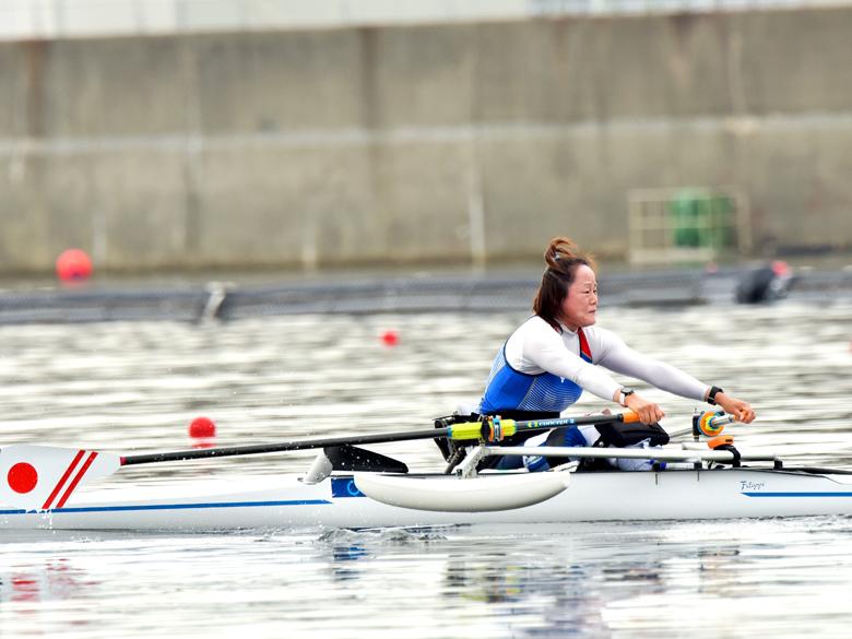 ボート・市川友美がアジア・オセアニア大陸予選制し、東京パラリンピックへ