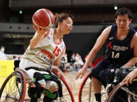 東京パラリンピック本番会場でシミュレーション! 男女車いすバスケットボール・有明特別強化試合