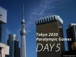 東京2020パラリンピック競技大会日程<競技5日目の見どころ>