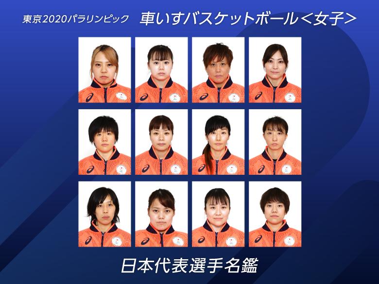 【日本代表選手名鑑】車いすバスケットボール女子|東京2020パラリンピック