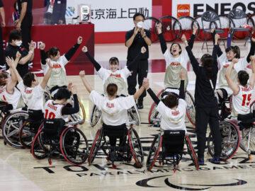 車いすバスケットボール女子日本代表、全員バスケで予選リーグ連勝!