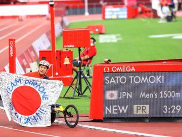 陸上競技・佐藤友祈、ライバルと競い合って成し遂げたパラリンピック2冠の快挙