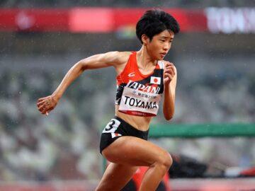 陸上競技・外山愛美、右手に記した「人生は変えられる」の意味
