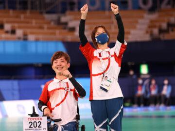日本初のボッチャ「金メダル」 杉村英孝、コーチと目指した東京パラリンピックの表彰台