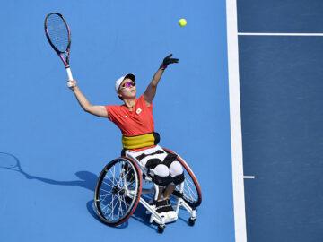 大金星から1年、車いすテニス・大谷桃子が再び挑んだ女王デフロートの壁