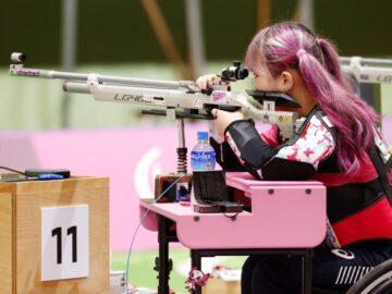 伝えたいことは「背中を見て」。射撃・日本代表選手たちが臨んだ大舞台