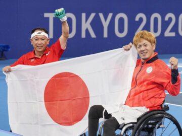 有明テニスの森の長い一日。深夜2時に諸石・菅野ペアがクアードで初メダル!