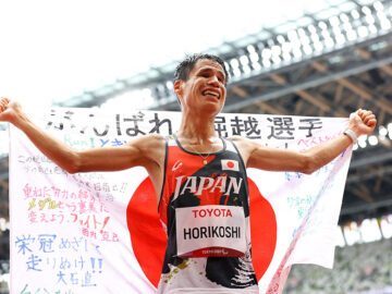 貫き通したマイペース。マラソン・堀越信司は「最後までしっかり」粘って逆転銅メダル