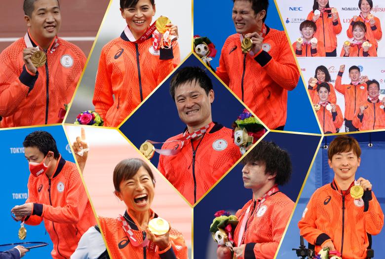 【東京2020パラリンピック】日本人メダリストを一挙紹介!